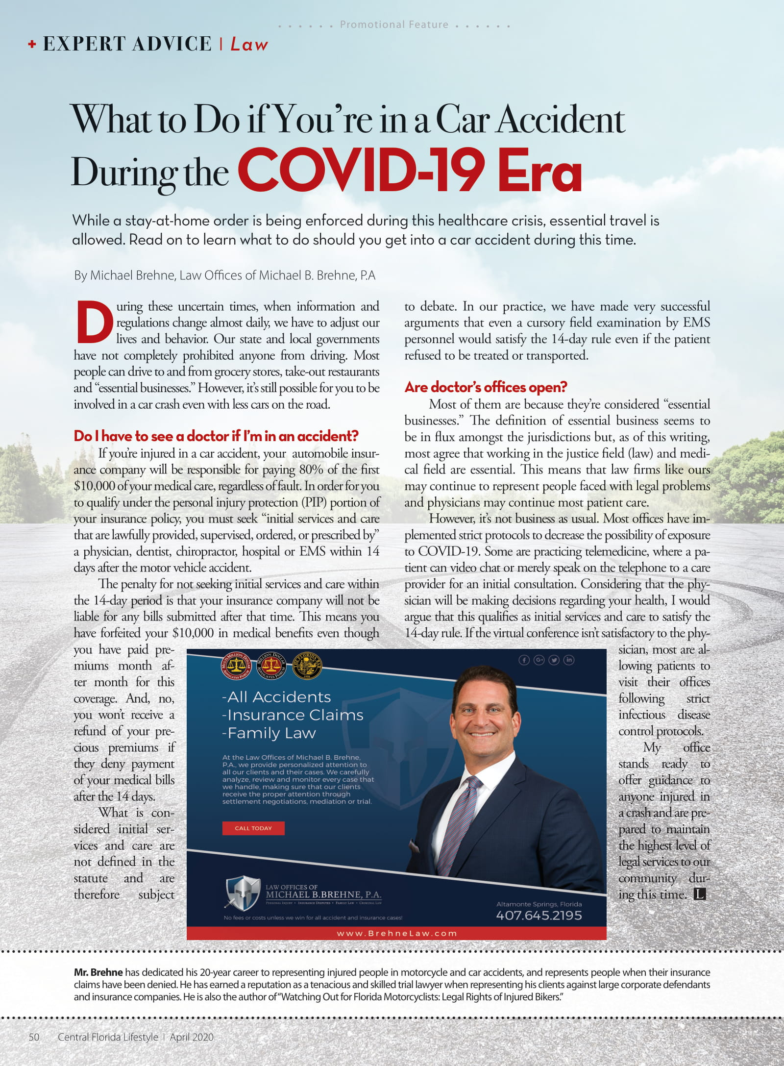 What To Do If You're In A Car Accident During The COVID-19 Era