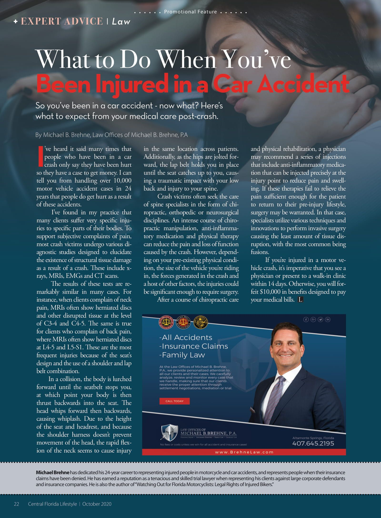 What To Do When Youve Been Injured In A Car Accident