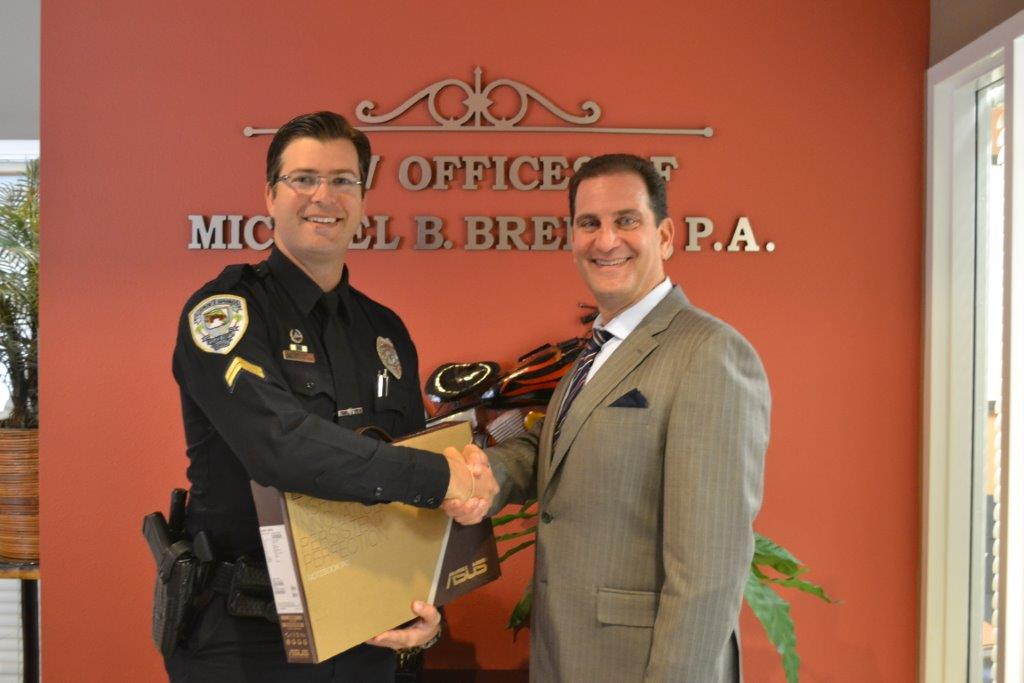 Michael Brehne Serves As First Private Sponsor For N.O.P.E. To DOPE Program